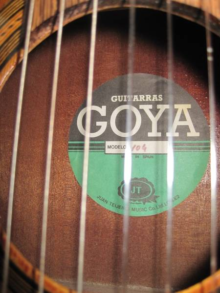 unusual old Goya - The Unofficial Martin Guitar Forum