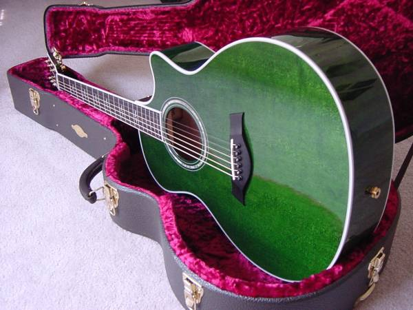 For Sale 2000 Model Taylor 614ce Aaaaa Maple Green The Acoustic